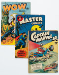 Golden Age (1938-1955):Miscellaneous, Fawcett Group of 17 (Fawcett Publications, 1945-53) Condition: Average VG.... (Total: 17 )