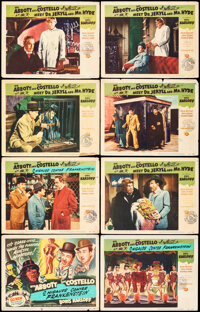 Abbott and Costello Meet Dr. Jekyll and Mr. Hyde (Universal International, 1953). Overall: Fine. Lobby Card Set of 8 (11...