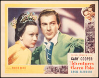 """The Adventures of Marco Polo (United Artists/Film Classics, 1938/R-1944/R-1954). Fine/Very Fine. Lobby Card (11"""" X..."""