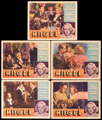 """Angel (Paramount, 1937). Fine+. Other Company Lobby Cards (5) (11"""" X 14""""). Drama. ... (Total: 5 Items)"""