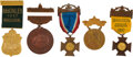 Political:Ribbons & Badges, William McKinley: Five Inauguration Badges. ...