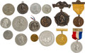 Political:Tokens & Medals, Benjamin Harrison & George Washington: Large Collection of Centennial inauguration Medals. ...