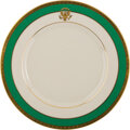 Political:3D & Other Display (1896-present), Jimmy Carter: White House China Dinner Plate. ...