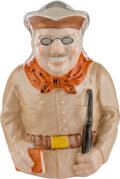 Political:3D & Other Display (1896-present), Theodore Roosevelt: Ceramic Toby Pitcher by Lenox.
