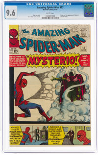 The Amazing Spider-Man #13 (Marvel, 1964) CGC NM+ 9.6 White pages