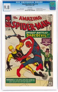 The Amazing Spider-Man #16 (Marvel, 1964) CGC NM/MT 9.8 White pages