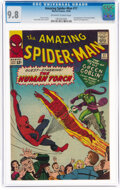 Silver Age (1956-1969):Superhero, The Amazing Spider-Man #17 (Marvel, 1964) CGC NM/MT 9.8 Off-white to white pages....