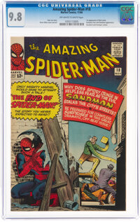 The Amazing Spider-Man #18 (Marvel, 1964) CGC NM/MT 9.8 Off-white to white pages