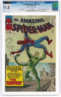 The Amazing Spider-Man #20 (Marvel, 1965) CGC NM/MT 9.8 Off-white to white pages