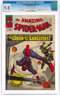 The Amazing Spider-Man #23 (Marvel, 1965) CGC NM/MT 9.8 Off-white to white pages
