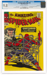 The Amazing Spider-Man #25 Pacific Coast Pedigree (Marvel, 1965) CGC NM/MT 9.8 Off-white to white pages