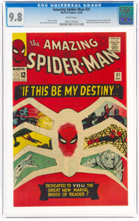 The Amazing Spider-Man #31 (Marvel, 1965) CGC NM/MT 9.8 White pages