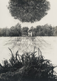 Jerry Uelsmann (American, 1934) Poet's House, 1965 Gelatin silver print 13-3/8 x 9-1/2 inches (34
