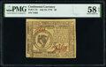 Colonial Notes:Continental Congress Issues, Continental Currency July 22, 1776 $8 PMG Choice About Unc 58 EPQ.. ...