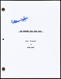 """It Came from Outer Space (1980s). Very Fine+. Signed Photocopied Final Screenplay Script (115 Pages, 8.5"""" X 11""""..."""