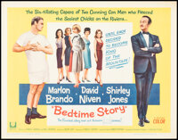 """Bedtime Story & Other Lot (Universal, 1964). Rolled, Fine/Very Fine. Half Sheets (2) (22"""" X 28""""). Comedy..."""