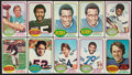 Football Cards:Lots, 1976 Topps Football Collection (384) Including Two Payton Rookies! ...