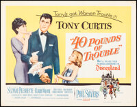 """40 Pounds of Trouble & Other Lot (Universal, 1963). Rolled, Overall: Very Fine. Half Sheets (2) (22"""" X 28""""..."""