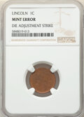 Eight-Piece 1973-S Lincoln Cents -- Increasing Die Pressure of Die Adjustment Strikes -- NGC. From the Don Bonser Error...