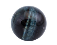 Tiger's-Eye Sphere South Africa 1.80 inches (4.56 cm) in diameter