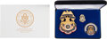 Political:Inaugural (1789-present), Donald J. Trump: Inaugural Commemorative Set of United States Capitol Police Badge, Token, and Pin.... (Total: 2 Items)
