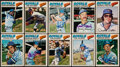 Autographs:Sports Cards, 1977 O-Pee-Chee Kansas City Royals Signed Card Lot of 10.