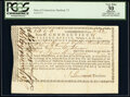 Connecticut Interest Certificate £218.17s.3d February 1, 1781 Anderson CT-21 Apparent Very Fine 30