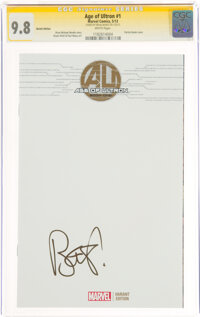Age of Ultron #1 Sketch Cover - Signature Series: Brian Bendis (Marvel, 2013) CGC NM/MT 9.8 White pages