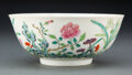 Ceramics & Porcelain, A Chinese Famille Rose Bowl Marks: six-characte...