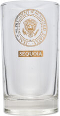 Political:Miscellaneous Political, John F. Kennedy: Presidential Yacht Sequoia Drinking Glass....