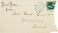 Autographs:Military Figures, George Armstrong Custer: Signed Envelope....