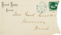 George Armstrong Custer: Signed Envelope