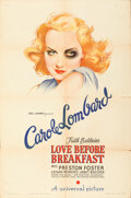 Movie Posters:Comedy, Love Before Breakfast (Universal, 1936). Folded, Fine/Very...