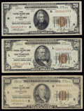 Fr. 1870-D $20 1929 Federal Reserve Bank Note. Very Fine-Extremely Fine. Fr. 1880-L $50 1929 Federal Reserve Bank Note...