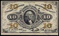 Fractional Currency:Third Issue, Fr. 1256 10¢ Third Issue Choice New.. ...