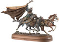 Photographs, Dave McGary (American, 1958-2013). Gray Hawk's Legacy, 2000. Bronze with polychrome. 21 inches (53.3...
