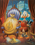 """Memorabilia:Comic-Related, Carl Barks """"Till Death Do Us Part"""" Uncle Scrooge Limited Edition Signed Lithographic Print #399/495 (Another Rainbow, 1983). ..."""
