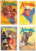 Pulps:Adventure, Adventure Group of 45 (Ridgway Company, 1928-32) Condition: Average GD/VG.... (Total: 45 Items)