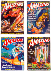 Amazing Stories Group of 15 (Ziff-Davis, 1940-53) Condition: Average FN.... (Total: 15 Comic Books)