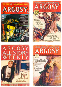 Argosy-All Story Weekly Box Lot (Munsey, 1922-43) Condition: Average GD/VG