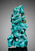 Minerals:Cabinet Specimens, Turquoise. Zhushan Co., Shiyan. Hubei. China. ... (Total: 2 Items)