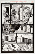 Original Comic Art:Story Page, Ron Garney and Tom Palmer Marc Spector: Moon Knight #38 Story Page 12 Original Art (Marvel, 1992). ...