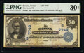 National Bank Notes:Texas, Ozona, TX - $50 1902 Date Back Fr. 667 The Ozona National Bank Ch. # (S)7748 PMG Very Fine 30 Net.. ...
