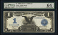 Large Size:Silver Certificates, Fr. 234 $1 1899 Silver Certificate PMG Choice Uncirculated 64 EPQ.. ...