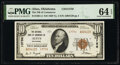National Bank Notes:Oklahoma, Altus, OK - $10 1929 Ty. 2 The National Bank of Commerce Ch. # 13756 PMG Choice Uncirculated 64 EPQ.. ...