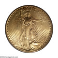 Saint-Gaudens Double Eagles: , 1927-S $20 MS63 PCGS. While the extreme rarity of the ...