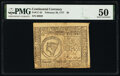 Colonial Notes:Continental Congress Issues, Continental Currency February 26, 1777 $8 PMG About Uncirculated 50.. ...