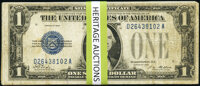 Fr. 1600 $1 1928 Silver Certificates. Three Examples. Very Good or Better; Fr. 1601 $1 1928A Silver Certificates. Thirte...