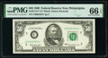 Small Size:Federal Reserve Notes, Fr. 2114-C* $50 1969 Federal Reserve Star Note. PMG Gem Uncirculated 66 EPQ.. ...