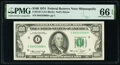 Small Size:Federal Reserve Notes, Fr. 2167-I $100 1974 Federal Reserve Note. PMG Gem Uncirculated 66 EPQ.. ...
